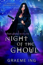 bargain ebooks Night of the Ghoul Cyberpunk SciFi by Graeme Ing
