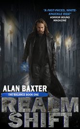 bargain ebooks RealmShift Horror by Alan Baxter