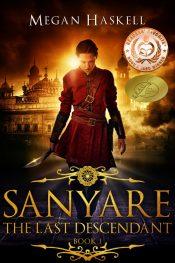 bargain ebooks Sanyare: The Last Descendant Sword & Sorcery Fantasy by Megan Haskell