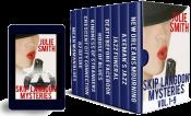bargain ebooks Skip Langdon Vol. 1-9 Mystery by Julie Smith