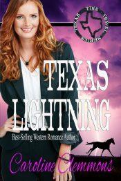 bargain ebooks TEXAS LIGHTNING Time Travel Romance by Caroline Clemmons