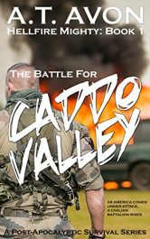 bargain ebooks The Battle for Caddo Valley Science Fiction by A.T. Avon