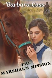bargain ebooks The Marshal's Mission Christian Historical Western Romance by Barbara Goss