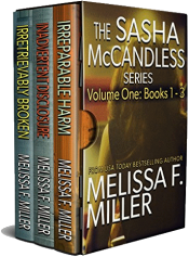 bargain ebooks The Sasha McCandless Series: Volume 1 Legal Thriller by Melissa F. Miller