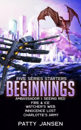 amazon bargain ebooks Beginnings: Five Series Starters Science Fiction by Patty Jansen