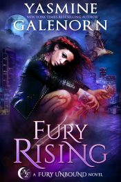 amazon bargain ebooks Fury Rising Post Apocalyptic Urban Fantasy/ Scifi by Yasmine Galenorn