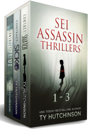 bargain ebooks SEI Thrillers 1-3 Crime Thriller by Ty Hutchinson