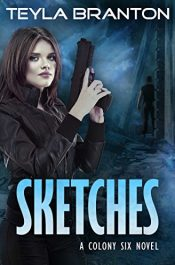 bargain ebooks Sketches Post-Apocalyptic Dystopian SciFi by Teyla Branton