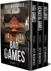 bargain ebooks The Bad Games Series: Books 1-3 Thriller / Mystery by Jeff Menapace