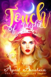 bargain ebooks Touch of Light: A Baylee Scott Paranormal Mystery Paranormal Cozy Mystery by April Aasheim