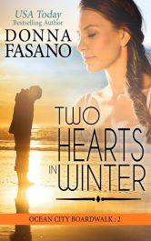 bargain ebooks Two Hearts in Winter Contemporary Romance by Donna Fasano