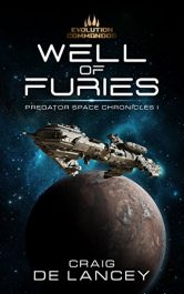 bargain ebooks Well of Furies SciFi Adventure by Craig DeLancy