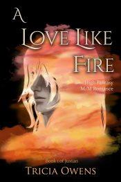 bargain ebooks A Love Like Fire: High Fantasy M/M Romance Fantasy/LGBT Romance by Tricia Owens