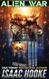 bargain ebooks Alien War: The Complete Trilogy Science Fiction by Isaac Hooke
