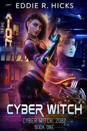 bargain ebooks Cyber Witch Classic Science Fiction by Eddie R. Hicks