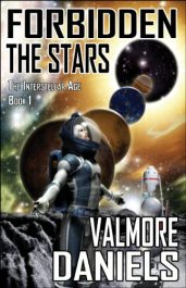 bargain ebooks Forbidden The Stars Science Fiction Adventure by Valmore Daniels