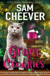 amazon bargain ebooks Gram Croakies Cozy Mystery by Sam Cheever