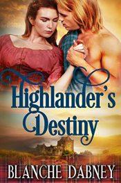 bargain ebooks Highlander's Destiny Historical Fantasy by Blanche Dabney