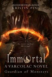 bargain ebooks Immortal: Guardian of Monsters Horror by Kristin Ping