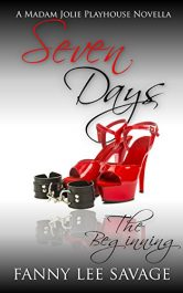 amazon bargain ebooks Seven Days: The Beginning Erotic Romance by Fanny Lee Savage