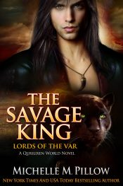 bargain ebooks The Savage King: A Qurilixen World Novel (Lords of the Var Book 1) Paranormal Romance by Michelle M. Pillow