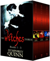 bargain ebooks We Witches Three Books 1-3 Young Adult/Teen Urban Fantasy by Humphrey Quinn