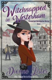 amazon bargain ebooks Witchnapped in Westerham Paranormal Cozy Mystery by Dionne Lister