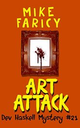 bargain ebooks Art Attack Mystery by Mike Faricy