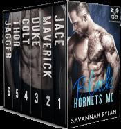 bargain ebooks Black Hornets MC Series: Books 1-6 Romantic Suspense by Savannah Rylan