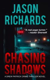 bargain ebooks Chasing Shadows Hard-Boiled Detective Thriller by Jason Richards