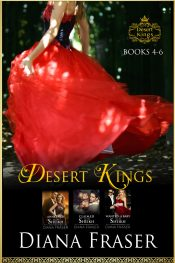 amazon bargain ebooks Desert Kings Boxed Set (books 4-6) Erotic Romance by Diana Faser