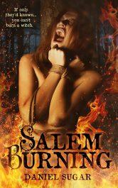 bargain ebooks Salem Burning Historical/Paranormal Romance by Daniel Sugar