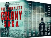 bargain ebooks The Complete Colony Saga: box SciFi/Horror/Thriller by Michaelbrent Collings