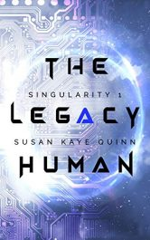 amazon bargain ebooks The Legacy Human Young Adult/Teen Science Fiction by Susan Kaye Quinn