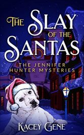 bargain ebooks The Slay of the Santas Mystery by Kacey Gene