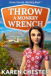 amazon bargain ebooks Throw a Monkey Wrench Mystery by Karen Chester