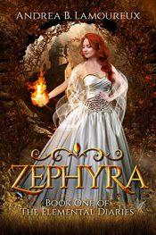 bargain ebooks Zephyra YA Historical Fantasy by Andrea B. Lamourex