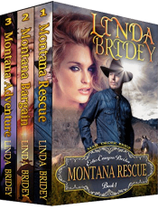 bargain ebooks Echo Canyon Brides Box Set - Books 1-3 Historical Romance by Linda Bridey