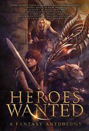 bargain ebooks Heroes Wanted Fantasy Anthology by Multiple Authors