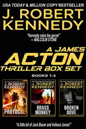 bargain ebooks The James Action Thrillers Series: Books 1-3 Action/Thriller by J. Robert Kennedy
