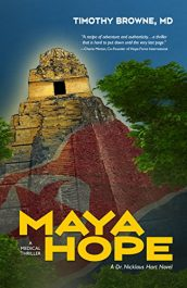 amazon bargain ebooks MAYA HOPE Thriller by Timothy Browne