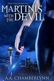 amazon bargain ebooks Martinis with the Devil Urban Fantasy by A.A. Chamberlynn