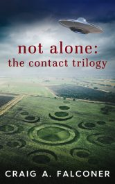 amazon bargain ebooks Not Alone: The Contact First Contact Science Fiction by Craig A. Falconer