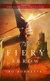 amazon bargain ebooks The Fiery Arrow YA/Teen Historical Fantasy by Bo Burnette