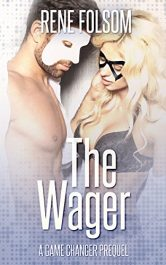 bargain ebooks The Wager Erotic Romance by Rene Folsom