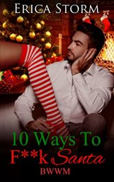 amazon bargain ebooks 10 Ways To F**K Santa Erotic Romance by Erica Storm