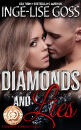 bargain ebooks Diamond and Lies Romantic Suspense Mystery by Inge-Lise Goss