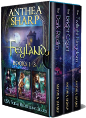 bargain ebooks Feyland: Books 1-3 Fantasy by Anthea Sharp