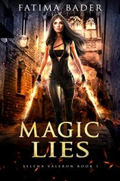 bargain ebooks Magic Lies Urban Fantasy by Fatima Bader