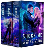bargain ebooks Shock Me Young Adult/Teen Science Fiction by Ashley C. Harris